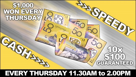 Pokie Game Show Bundaberg $1,000