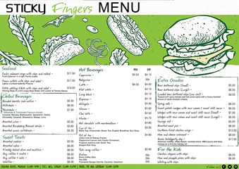 Coffee Shop Menu Bundaberg The Waves Sports Club