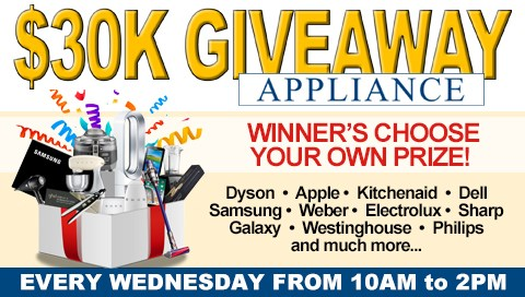 Pokies $30K Appliance Giveaway The Waves Sports Club